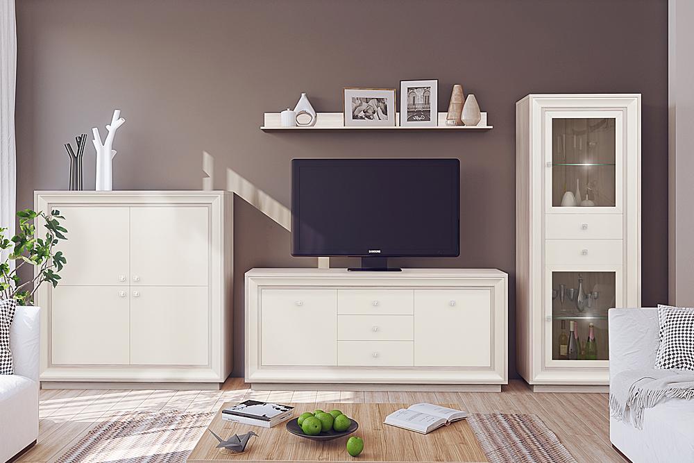 — Модульная программа для гостиной «Прато», мебельная фабрика «Кураж»