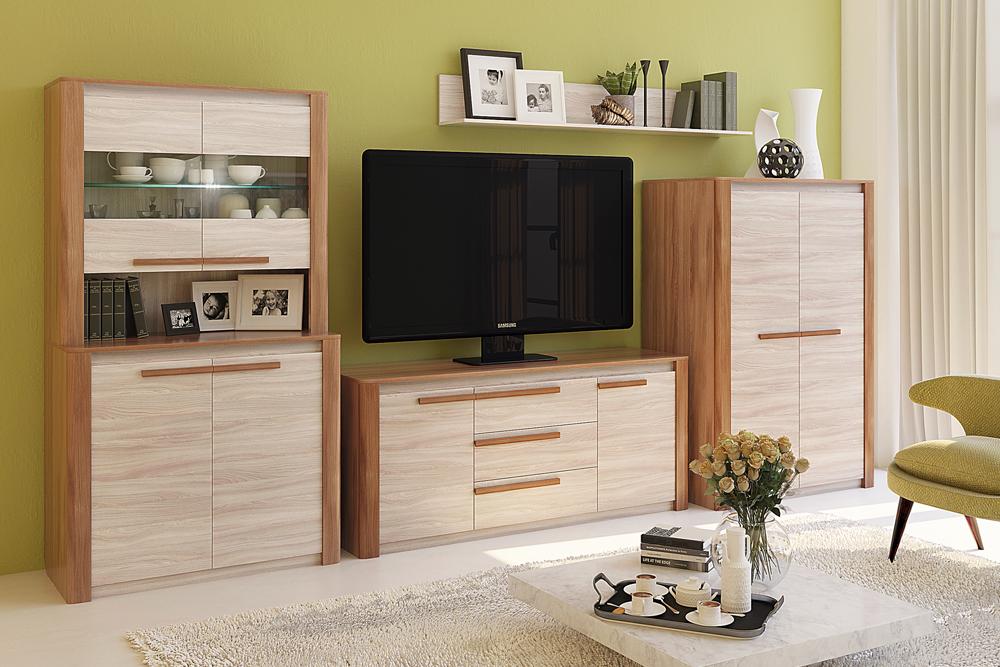 — Модульная программа для гостиной «Верона», мебельная фабрика «Кураж»